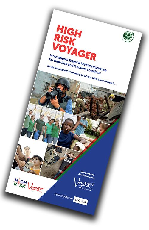 High Risk Voyager Leaflet